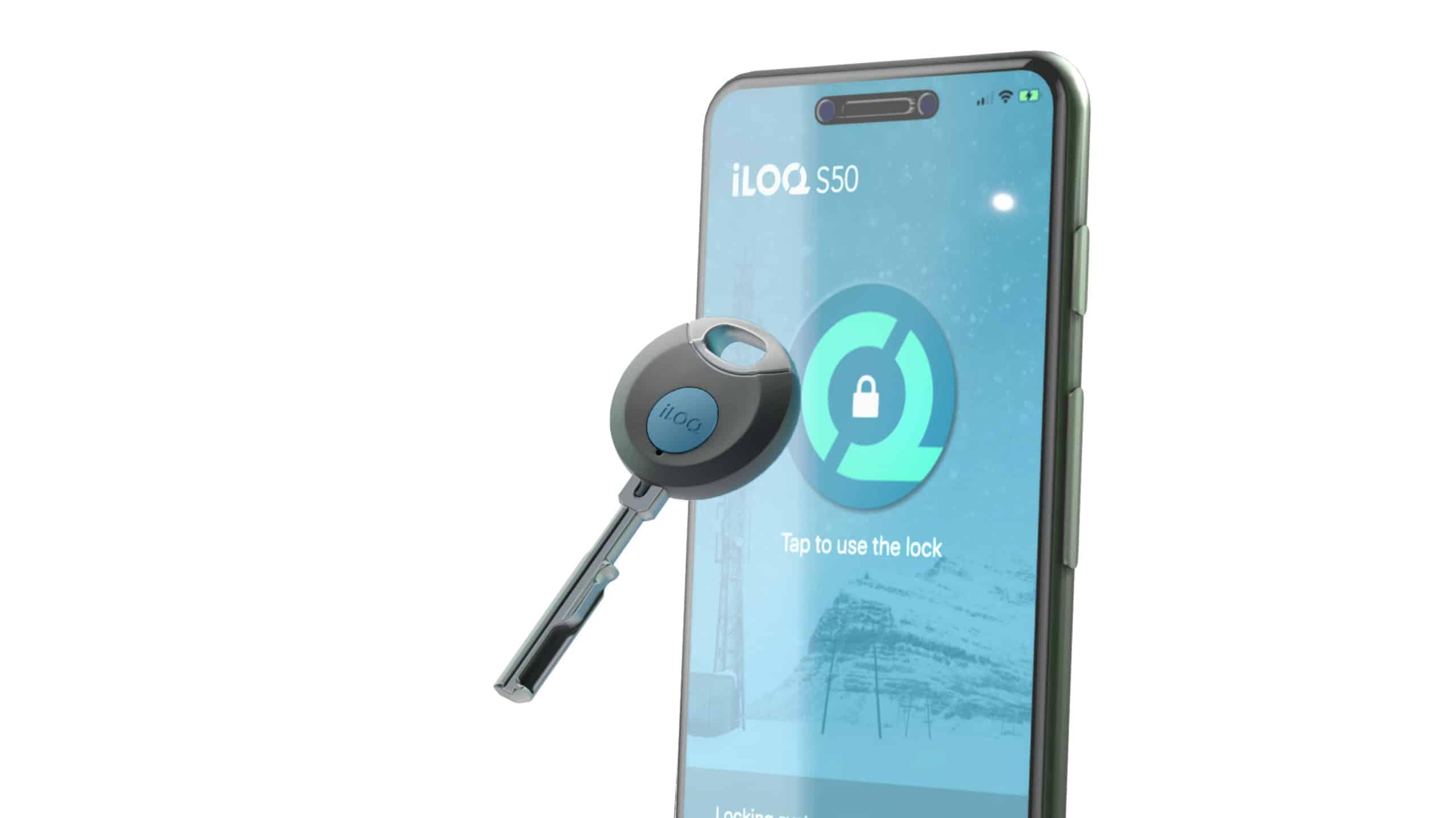 iLOQ_5series_phone and key